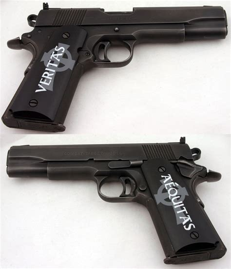 Boondock Saints Pistol L by I Want These For My 1911 Custom Grips 1911 Custom Killer