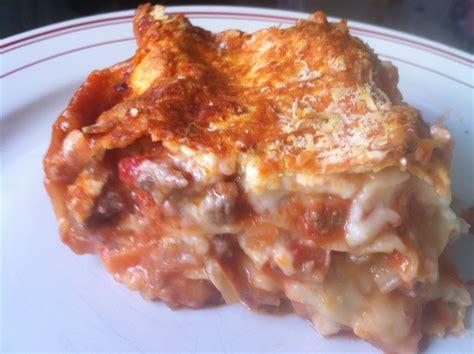 lasagnes à la napolitaine envie de cuisiner