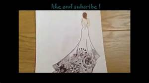 ♥drawing tutorial♥ how to draw a girl with a zentangle ...