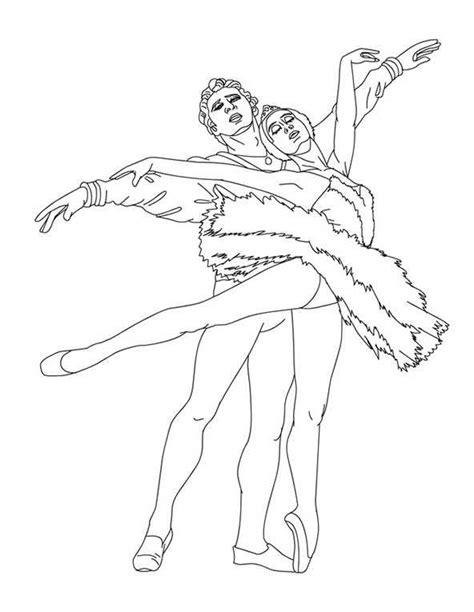 ballett  ausmalbilder kostenlos