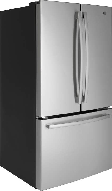 gnejgmww ge   cu ft french door refrigerator white