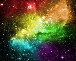 Rainbow Nebula Wallpaper by marvincmf on DeviantArt