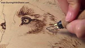 Pyrography: Burning Techniques for Wolf Fur - YouTube
