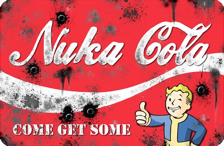 nuka cola  metal sign