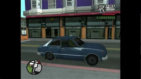 Old Japanese cars in GTA San Andreas - YouTube
