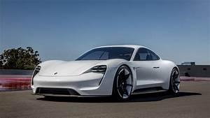 Wallpaper Porsche Taycan, Electric Car, supercar, 2020