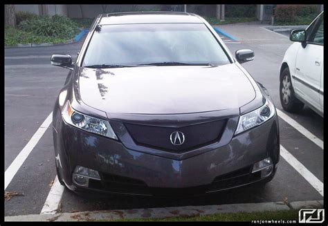 Acura Tl Aftermarket Grill acura tl with ronjon grill