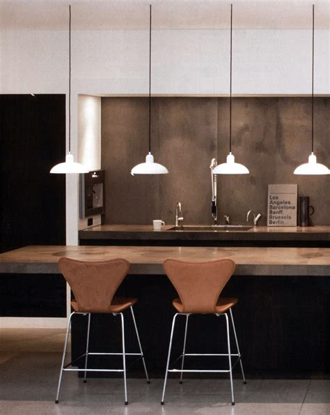 kitchen counter pendant lights pretty stylish scandinavian themed kitchen design with 6639