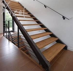 Stupendous Metal Stringer Stairs  Tough Construction