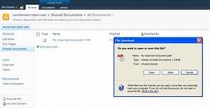sharepoint 2010 and pdf integration series part 1 With download document link sharepoint