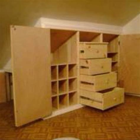built  dresser built  dresser attic remodel attic