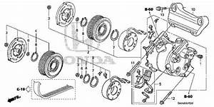 2007 Honda Crv Parts Diagram