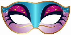 Carnival mask clipart