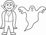 Ghost Halloween Coloring Pages Printable Ghosts Vampire Clip Clipart Colouring Spooky Goblins Toddlers Preschoolers Bigactivities Vampires Happy Ghouls Filminspector Activity sketch template