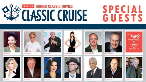 Special Guests Announced For The 2016 Tcm Classic Cruise