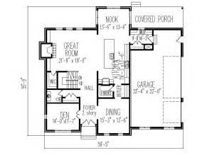 2 Story Beach House Floor Plans