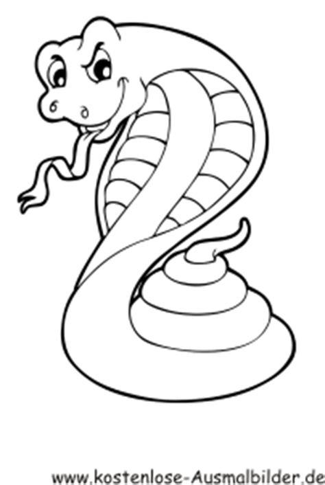 ausmalbilder malvorlagen schlangen klapperschlange