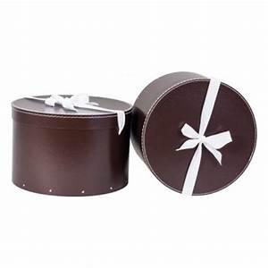 Boite Cadeau Ronde : grosse boite cadeau ronde cadeau nature femme ~ Teatrodelosmanantiales.com Idées de Décoration