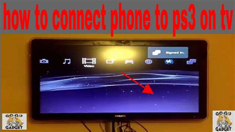 how to connect phone to ps3 youtube