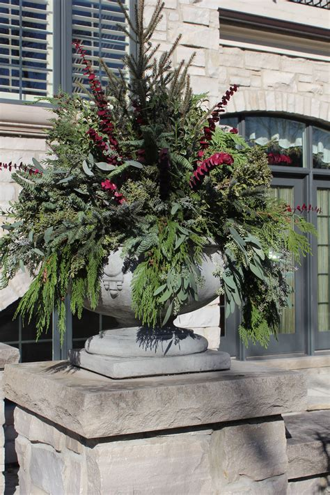 state blog winter containers outdoor christmas