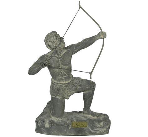 arash  archer iranian hero sculpture shopipersia