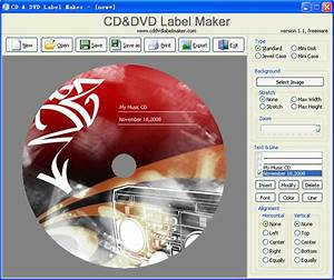 cd and dvd label maker 12 free download freewarefiles With cd label creator