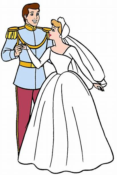 Cinderella Disney Clipart Princess Clip Prince Charming