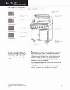 Download Free Pdf For Wolf Bbq36bi Grill Manual