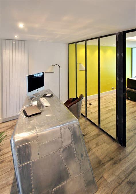 bureau loft industriel loft industriel réorganisé sur 4 plateaux architecte d