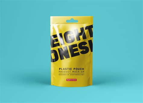 Download free mockups in psd. Free Realistic Standing Plastic Pouch Packaging Mockup PSD ...