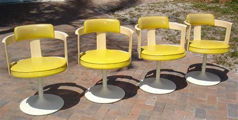 vintage modern tulip chair set