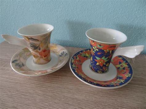 rosenthal porzellan verkaufen 2 rosenthal espresso sammeltassen neu in rohr glas