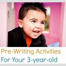 Prewriting Activities For Your 3yearold  Eslkevin's Blog