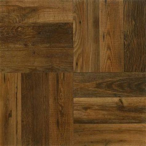 home depot rustic wood look tile armstrong 12 in x 12 in peel and stick rustic wood vinyl