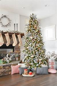 kara, u0026, 39, s, party, ideas, farmhouse, christmas, tree