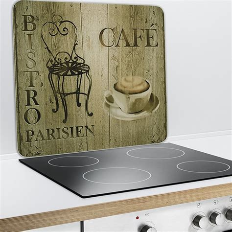 plaque protection murale décoration bistrot rangements et décoration de cuisine maison et