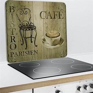 Credence Plaque De Cuisson : plaque protection murale d coration bistrot wenko ~ Dailycaller-alerts.com Idées de Décoration