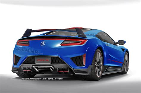 Acura Nsx R by Acura Nsx Type R Rendered 187 Autoguide News
