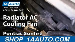 How To Install Replace Radiator Ac Cooling Fan Chevy