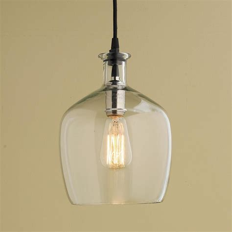 Glass Pendant Lighting by Carafe Glass Pendant Light Small In 2019 Clearly
