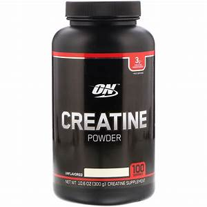 Optimum Nutrition Creatine Powder Unflavored 10 6 Oz 300 G 748927055856