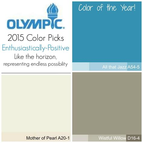 2015 paint color trends monochromatic palettes and