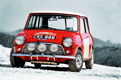 Ex-works Monte Carlo Rally Mini