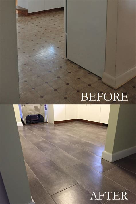 can you lay tile linoleum can you put vinyl flooring ceramic tile thefloors co