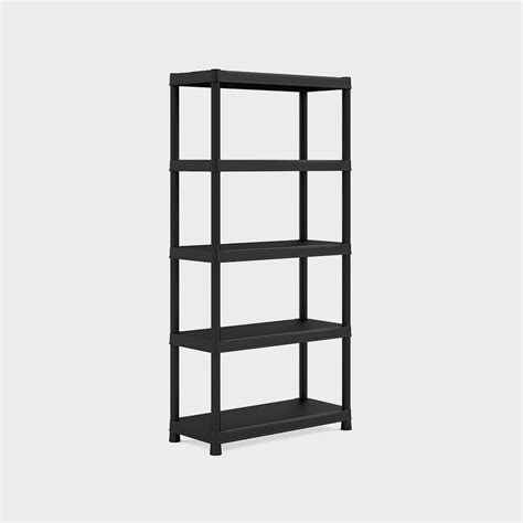 Scaffali Resina by Scaffale Resina Quot Plus 90 40 5 Quot Nero
