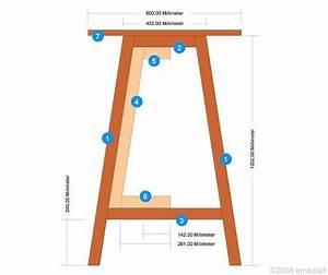 Stehtisch Selber Bauen : klappbarer tisch selber bauen ~ Lizthompson.info Haus und Dekorationen