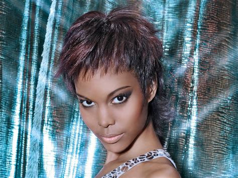 And Black Hairstyles by Pixie For Black Hair Point Cut Layers Frame The