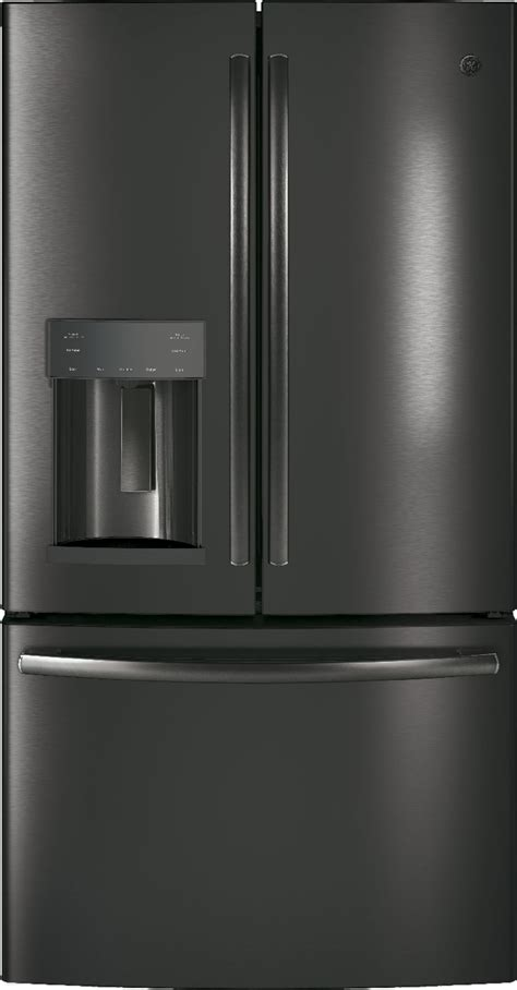ge black stainless steel appliance package    electric range