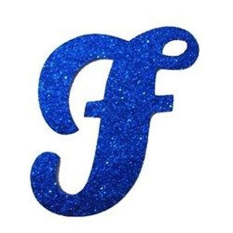 letra cursiva em gliter f azul a b c d 193