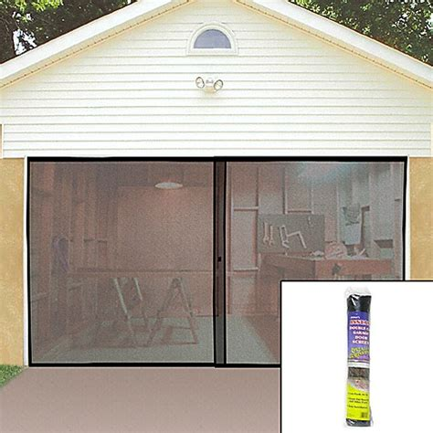 screen garage door garage screen door bed bath beyond
